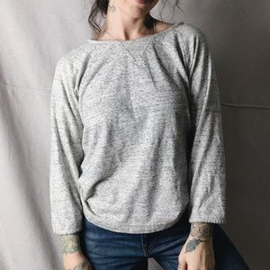 J. CREW Featherweight French Terry Sweatshirt